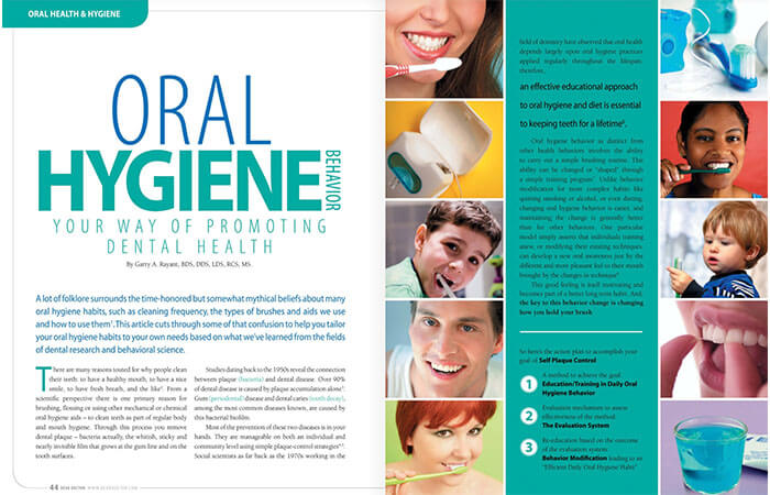 Oral Hygiene article cover