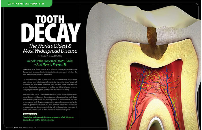 Cosmetic Dentistry article cover