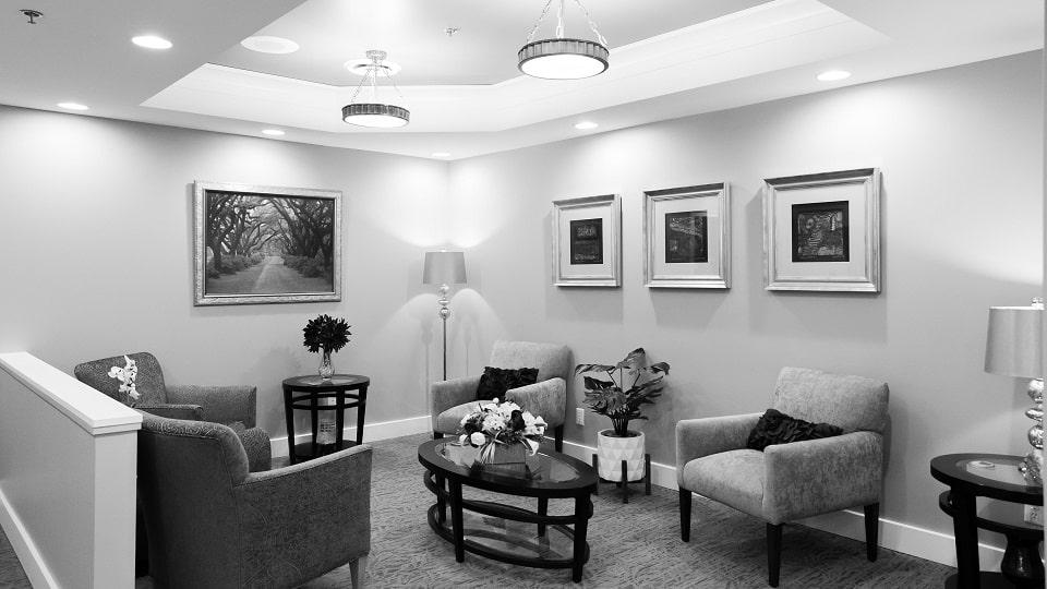 Serene Oaks Dental waiting room