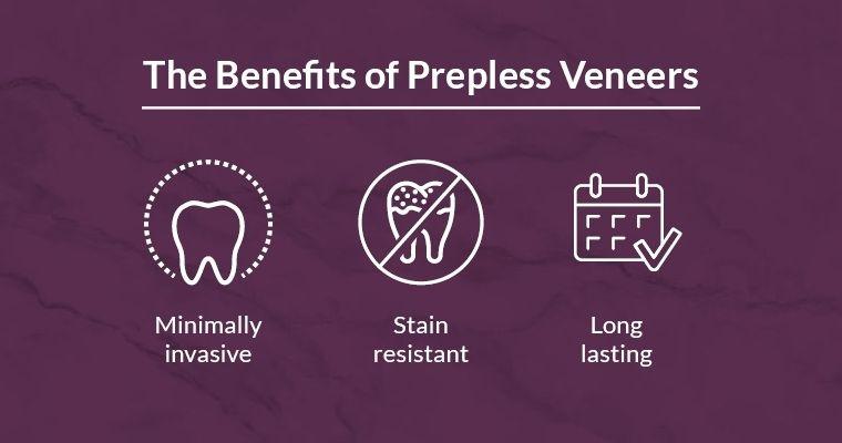 The benefits of prepless veneers: minimally invasive, stain resistant, long lasting