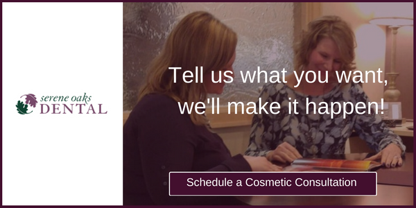 Get a cosmetic consultation.