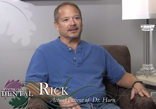 Video preview of Rick, an actual patient of Dr. Horn.