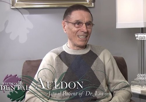 Auldon is an actual patient of Dr. Loween.