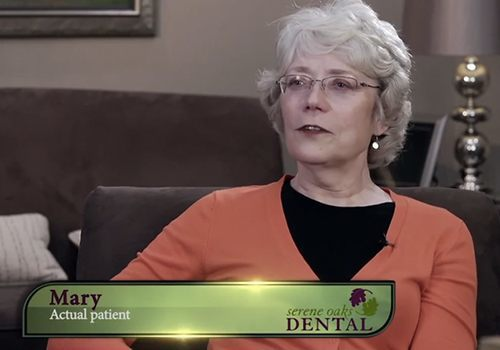 Video preview of a testimonial of Mary, an actual patient of Dr. Horn.