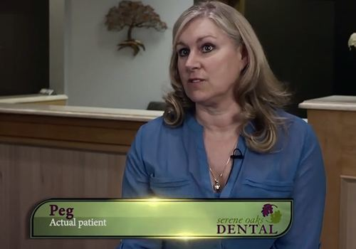 Testimonial of Peg, a real patient at Serene Oaks Dental.