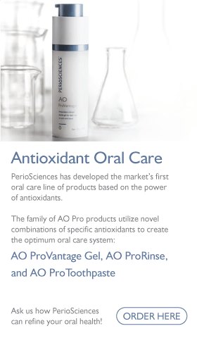 PerioSciences Antioxidant Oral Care banner