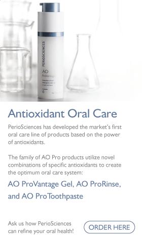 PerioSciences Antioxidant Oral Care banner